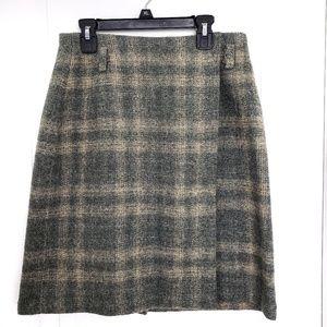 Eddie Baur Womans Wool Wrap Skirt